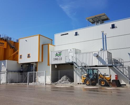 Zement Wasser Aufbereitung AJF