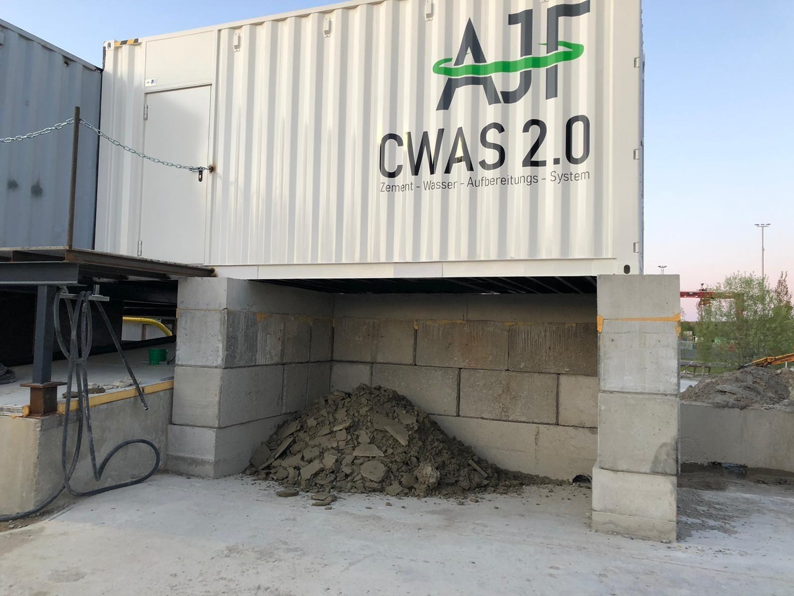 AJF CWAS Concrete water treatment system