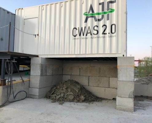 CWAS Zement-Wasser-Aufbereitungcwas 2.0